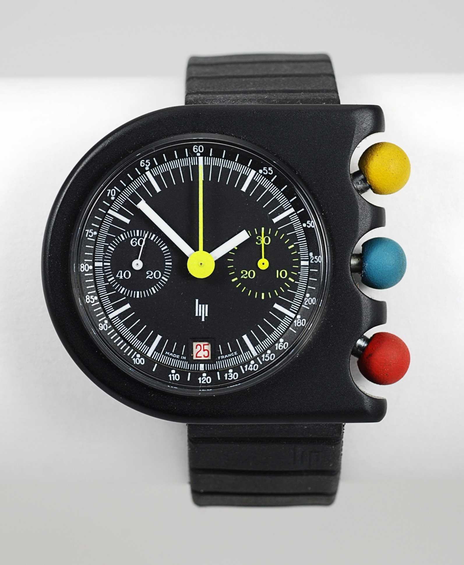 LIP (Chronographe Tallon / Mach 2000 – 3 Couleurs réf. 43756), vers 1975