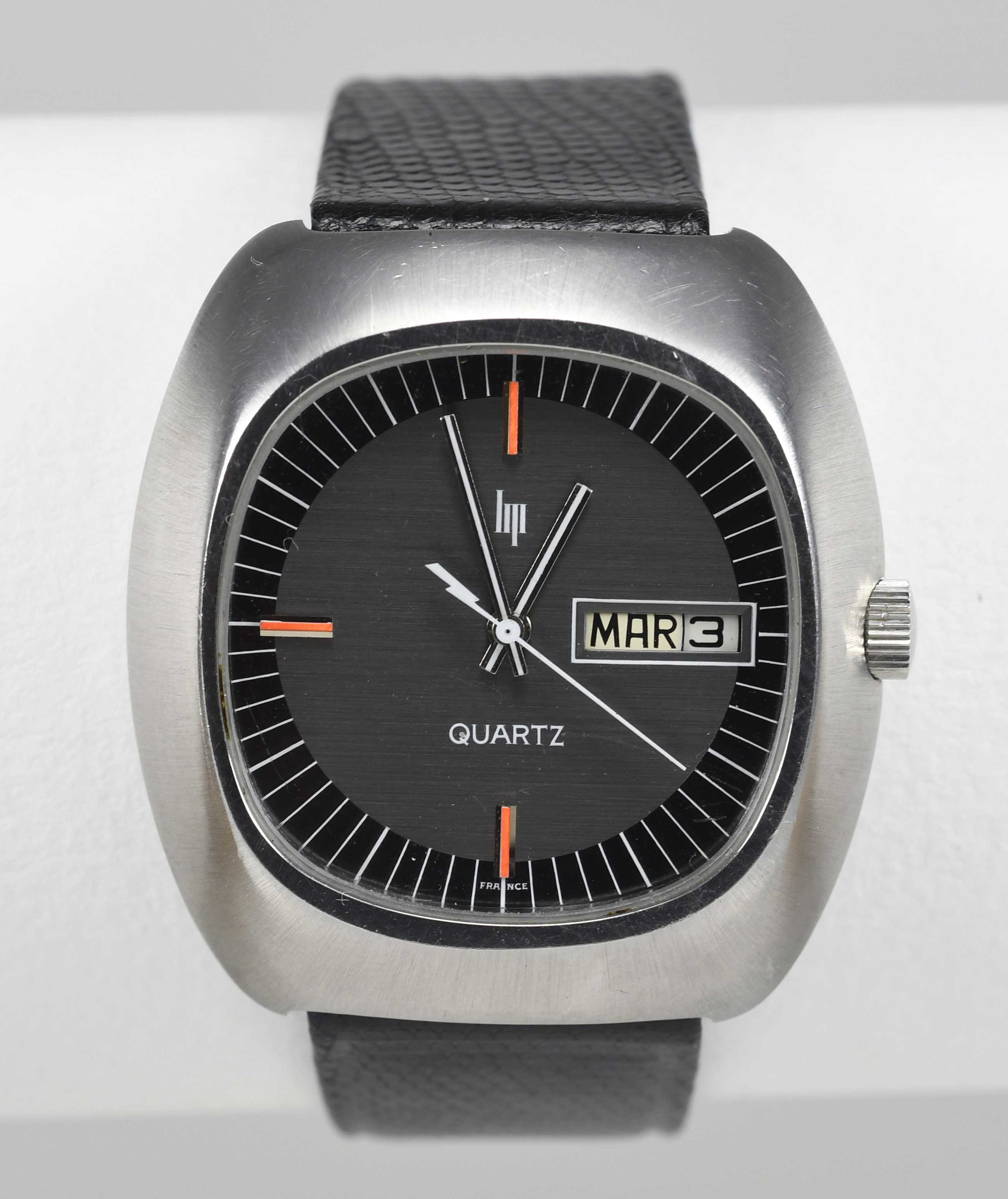 LIP (Design - 1ère Quartz réf. 43845), vers 1976