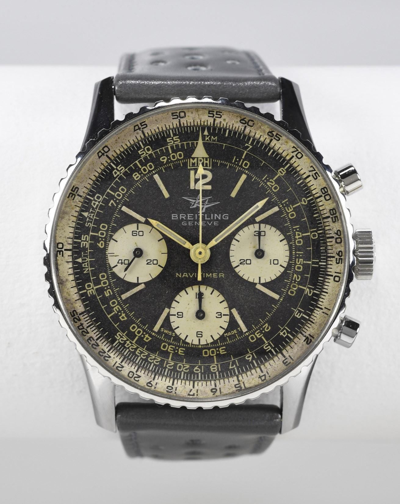 Breitling Chronographe Navitimer Ref 806 Vers 1966 Vintage Watch Story