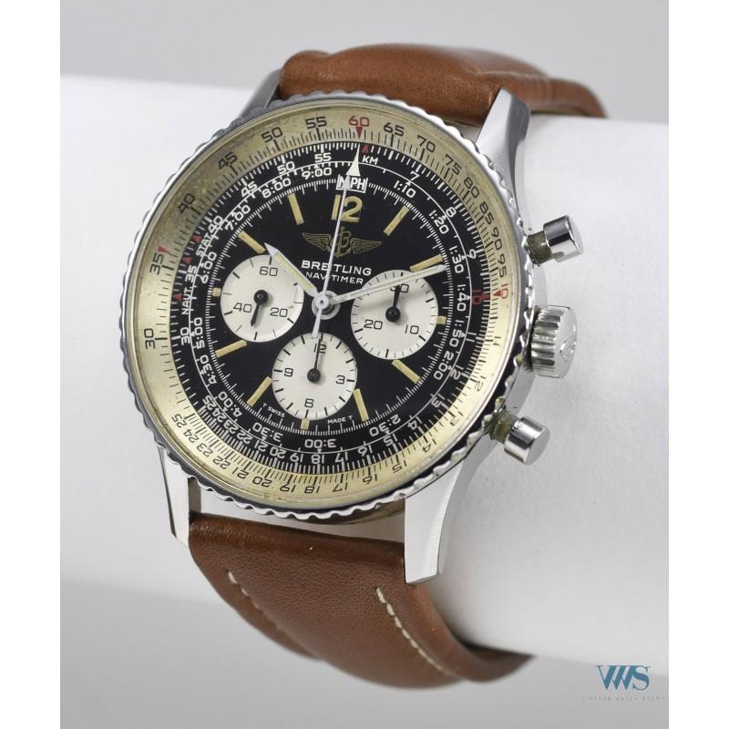 gainsbourg - quelle était Précisément la montre de S. Gainsbourg? - Page 3 Breitling-chronographe-old-navitimer-gainsbourg-acier-ref-81600-vers-1986