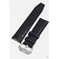 Bracelet en cuir noir VWS