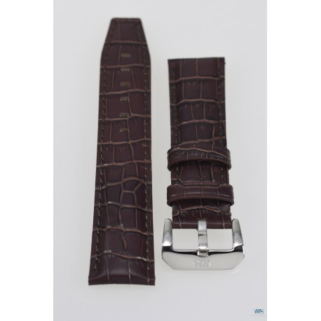 Leather strap 22mm VWS - Brown