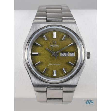 OMEGA (Seamaster Sport date / Chocolate Dial réf. 166.136), vers 1972