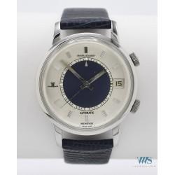 JAEGER-LeCOULTRE (Memovox Silver & Blue / Automatique Complet réf. 875.42), vers 1971