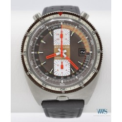 BREITLING (Chronographe Pult / Chocolat réf. 2117), vers 1971