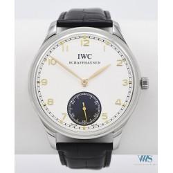 IWC (Portugaise manuel - Réédition Silver réf. 545405), vers 2013
