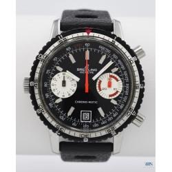 BREITLING (Chronographe Pilote Chrono-Matic / Black réf. 2110), vers 1969