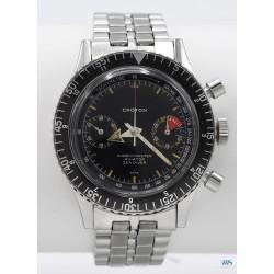 CROTON (CHRONOMASTER AVIATOR - SEA DIVER / 1ère Génération réf. 9870), vers 1965