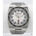 WITTNAUER (Submarine Automatic Day Date - Silver réf. 1001-W100), vers 1965