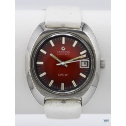 CERTINA (Sport Red / Automatic DS -2 réf. n° 580 1300 M), vers 1970