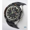 NIVADA GRENCHEN (Travelmaster - Submarine World Time / Alarm réf. 87020), vers 1972