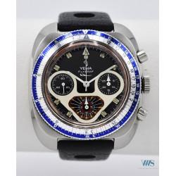 YEMA (Chronographe Flygraf / 1ère série boitier coussin réf. 93112), vers 1970