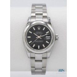ROLEX (Oyster Perpetual DateJust Lady / Black réf. 179180), vers 2004-05