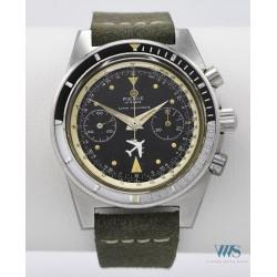 PIERCE (Chronographe Aviateur Antimagnetic / Super resistente réf. AA1345), vers 1968