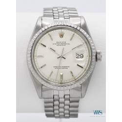 ROLEX (OYSTER PERPETUAL - DATEJUST / SILVER RÉF. 1603), vers 1970