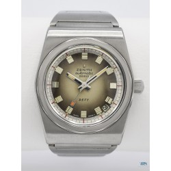 """ZENITH (Defy Automatic Waterproof 300m """"Fumato"""" réf. A7681), vers 1971/72"""
