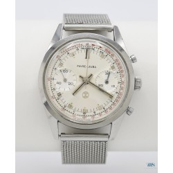 FABRE LEUBA (Chronographe sport antimagnétique – Tachymètrique), vers 1968