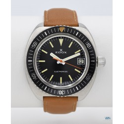 EDOX (Diver Electronique - Black 20 ATU), vers 1969
