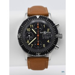 BELL & ROSS BY SINN (Chronographe Pilote / Military M2 réf. 256.0988), vers 2000