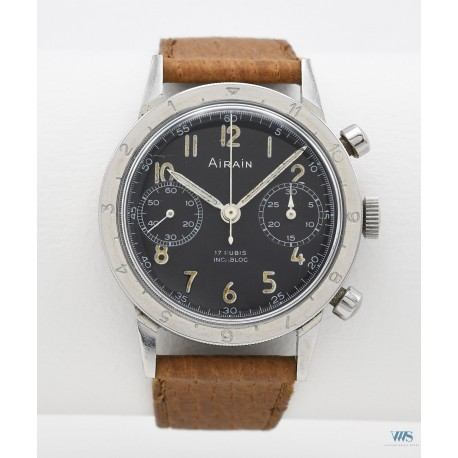 AIRAIN (Chronographe type 20 / ALAT numéroté), vers 1960