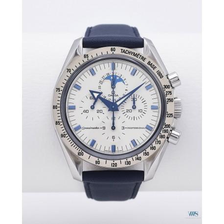 OMEGA (Chronographe Speedmaster Professional - Moonphase / White / réf. 3575.20.00 / 145.0 55), vers 2006