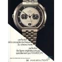 HAMILTON (Chronographe Fontainebleau Chronomatic réf. 11001/3), vers 1974
