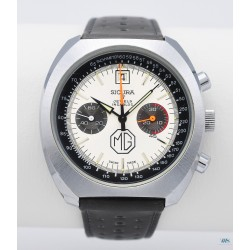 SICURA (Chronographe pilote MG – Commémoratif 1925-1975 / réf. 1276), vers 1975