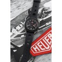 HEUER (Chronographe Monza Automatic Black PVD / ref. 150.501), vers 1977