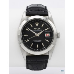 ROLEX (Oyster Perpetual DateJust - Black / ref. 6609), vers 1956