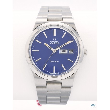 OMEGA (Genève Sport Automatic Royal Blue - Day Date / ref. 166.0174), vers 1972
