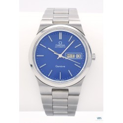 OMEGA (Genève Sport Automatic Blue - Day Date / ref. 166.0174), vers 1977