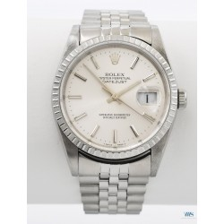 ROLEX (Oyster Perpetual DateJust - Silver / ref. 16220), vers 1991