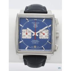 TAG HEUER (Chronographe Monaco Calibre 12 / Steve McQueen / ref. CAW2111-0), vers 2010
