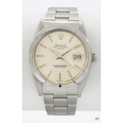 ROLEX (Oyster Perpetual Date - Silver / ref. 15010), vers 1983