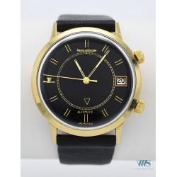JAEGER-LeCOULTRE (Memovox automatique - Cadran Black / US Market - Plaqué Or jaune / ref. E874), vers 1968