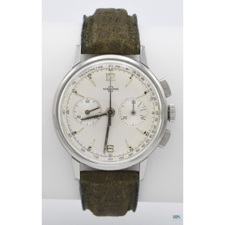 AURICOSTE (Chronographe Dotation / Horloger de la Marine - Compax / ref. 810-64), vers 1964