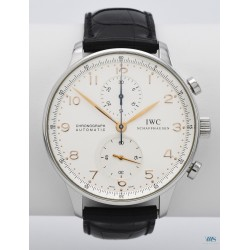 IWC (Chronographe Portugaise / Silver / ref. IW371401), vers 1998