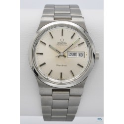 OMEGA (Genève Sport Automatic Silver - Day Date / ref. 166.0174), vers 1974