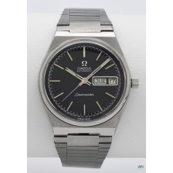 OMEGA (Seamaster Sport / Automatic Black - Day Date / ref. 166.0215), vers 1977