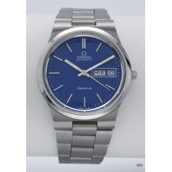 OMEGA (Genève Sport Automatic Sky Blue - Day Date / ref. 166.0174), vers 1975