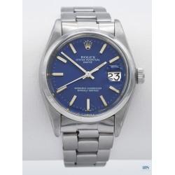 ROLEX (Oyster Perpetual Date – Blue / Ref. 1500), vers 1975