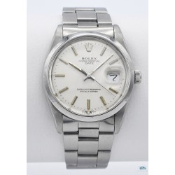 ROLEX (Oyster Perpetual Date - Silver / ref. 15000), vers 1987-88