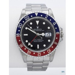 ROLEX (Oyster Perpetual Date / GMT - MASTER / PEPSI / ref. 16700 SÉRIE L), vers 1989