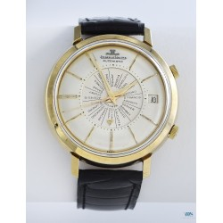 JAEGER-LeCOULTRE (Memovox World Time Automatic / US Market - Plaqué Or / ref. E815/825), vers 1958