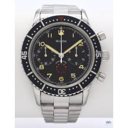 BULOVA Swiss (Chronographe Big Pilote 50M / Marine Star / ref. BA 8080101A), vers 1970