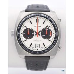 HERMA (Chronographe Pilote pour SAVIEM / Chrono-Matic white / ref. 9510.13), vers 1970