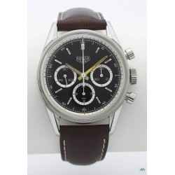 HEUER (Chronographe Carrera – Black / Classic re-edition / ref. CS3113), vers 2000
