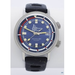 "LIP (Nautic-Ski Electronic Blue / Ronde ""Les Industries de Palente"" / ref. 42982), vers 1980"