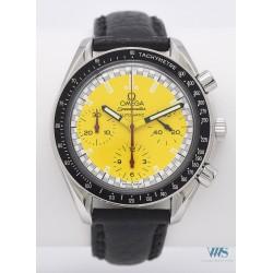 OMEGA (Chronographe Speedmaster Formula 1 / Yellow - Série M. Schumacher / ref. 175.0032.1), vers 1995