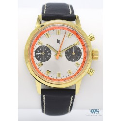 LIP (Chronographe Driver Gold /Orange / ref. 42828), vers 1965/8